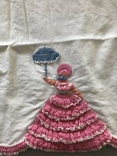 Vintage hand crocheted sou 00004000 thern belle pillowcases