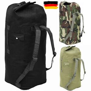 85 L Groß XXL Seesack Camping Trekking Reiserucksack Rucksack Wandern Tasche DE