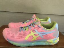 Asics Gel-Resolution 8 Women's Tennis Shoes Sun Coral/Yellow 1042A161 Size 9.5