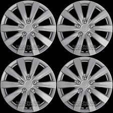 "16"" Set of 4 Wheel Covers Full Rim Snap On Hub Caps fit R16 Tire & Steel Wheels"