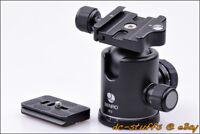 Benro B2 Kamera Kugelkopf & Schnellwechselplatte Combo passen Stativ Arca Swiss
