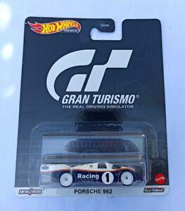 "Hot Wheels 1/64 3 inch Porsche 962 Car Culture Serie Retro '' Gran Turismo"""