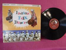 Indian Folk Dances, His Master's Voice Records ECLP 2281,1963, India