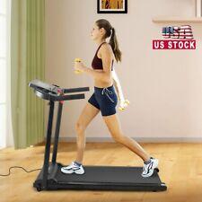 2.0 HP Running Machine Folding Treadmill Electric Motorized w/LCD display Gym