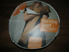 New Herbal Concepts WARMING SCARF Hand & Neck Heat & Aromatherapy Microwaveable