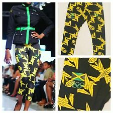 Puma Jamaica Women's 2012 London Olympic 3/4 Leggings New Size S, M and L