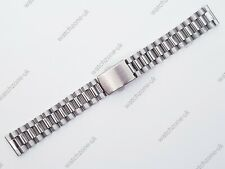 NEW 18MM STAINLESS STEEL STRAIGHT ENDS GENTS WATCH STRAP/ BAND FOR SEIKO (SE-15)