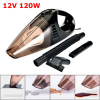 120W 12V Car Vacuum Cleaner Auto Mini Portable Wet Dry Handheld Duster