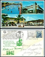 FLORIDA Postcard - Miami Beach, Sandy Shores Motel M29