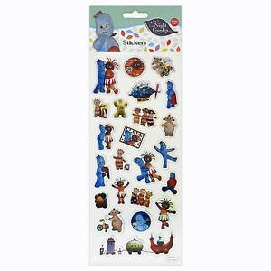 In The Night Garden Stickers Children Birthday Party Loot Bag Fillers Decorating