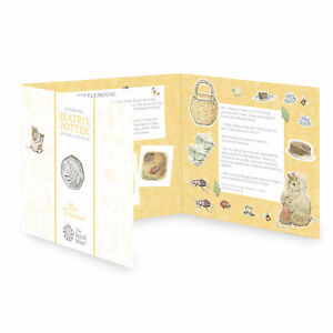 Mrs Tittlemouse 2018 UK 50p Brilliant Uncirculated Coin (Low Mintage)