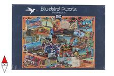 PUZZLE OGGETTI BLUEBIRD CARTOLINE POSTCARD (USA) 3000 PZ