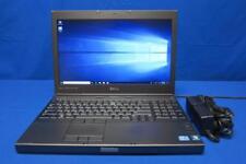 Dell Precision M4600 Laptop i7-2720QM@2.20GHz 8GB RAM 750GB HDD Windows 10 Pro