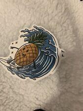 Summer Surfing Sticker Pineapple