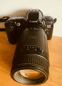Canon EOS  500 with Sigma 75-300mm Telephoto Lens