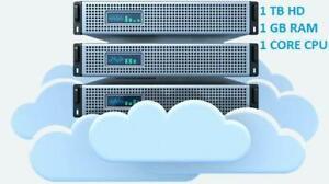 Virtual Private Server VPS - 1000 GB [ 1TB ] storage, Unlimited bandwidth