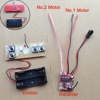 High Power 4-channel Transmission & receiving board For Remote Control Tank 2.4G