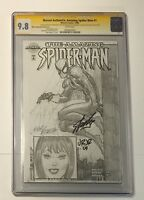 STAN LEE SIGNED MARVEL AUTHENTIX AMAZING SPIDER-MAN 1 CGC SS 9.8 SKETCH ROMITA