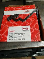 Iwis 1/2 x 1/4 Chain 110pins with connecting link and half link