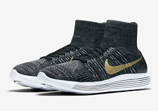 Men's Nike Lunarepic Flyknit Black History Month Shoes -Size 15 -881681 007 -New