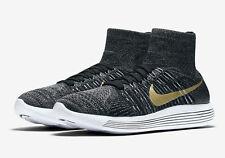 Men's Nike Lunarepic Flyknit Black History Month Shoes -Size 7 -881681 007  New