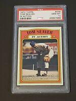 1972 Topps IN ACTION Tom Seaver #446 PSA10 POP 8 JEWEL INVESTMENT New York Mets