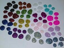 Fairy Garden Glitter Stepping Stones *Handmade* Rock Path Miniature Accessories