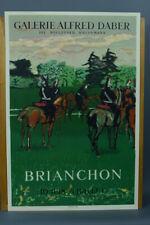 BRIANCHON MAURICE - AFFICHE  MOURLOT 1954 - Alfred Daber Paris garde nationnale