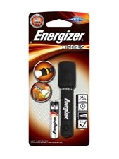 Energizer X-Focus LED Waterproof Adjustable Torch Light + 1 AAA Battery +Lanyard