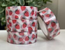 1 Roll - Strawberry Washi Tape