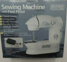 Vintage Nib Sewing Machine with Foot Pedal Home Elite Pro 012495831540