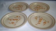 """Lot of 4 Retired Corelle CornerStone China Blossom Plates 8 1/2""""  FREE SHIPPING"""