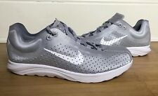 Nike Men's MAY FLY Lite BR Wolf Grey White 898027-001 Size 10