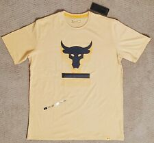 NEW Under Armour Project Rock Above The Bar T-Shirt Men's Sz:XL 1345811-773