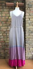 GAP UK Size 12 Crossover Back Geometric Multicolour Print Maxi Dress