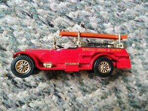 Matchbox Models of Yesteryear Y-6 Rolls Royce Fire Engine Mint & Boxed.