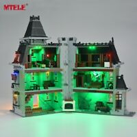 Upgraded version LED Light Up Kit For 10228 LEGO Monster Fighters Haunted House