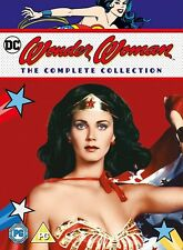 Wonder Woman - The Complete Collection (Dvd, 2007, 11-Disc Set) New!