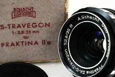 A. Schacht Ulm S-TRAVEGON 35mm f2,8 - classic GERMAN lens for PRAKTINA