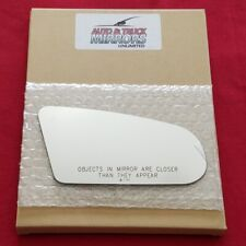 Mirror Glass + Adhesive For Saturn Sc, Sw, Sl Passenger Side Replacement