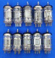 6F1P 12pcs lot (6U8 / ECF82)lightly used Triod-pentode TUBE USSR