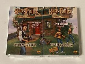 Harry Potter TCG CHAMBER OF SECRETS Weasley Potions & Twin Trouble Theme Deck
