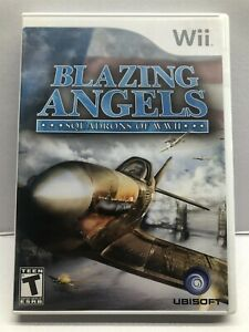 Blazing Angels: Squadrons of WWII (Nintendo Wii, 2007) - Complete w/ Manual