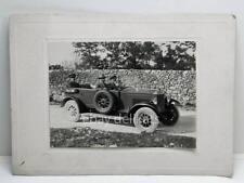 AUTOMOBILE auto Fiat Torpedo 509 1925 vecchia foto old photo