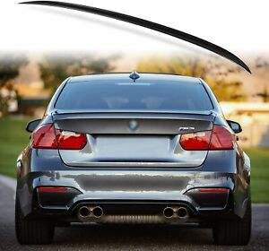 M4 STYLE REAR TRUNK BOOT LIP SPOILER FOR BMW 3 SERIES F30 & M4