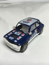 Corgi Renault 5 Turbo Elf #18 Blue 10 Spoke Wheels Made in United Kingdom