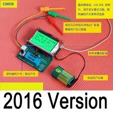2016 DIY GM328 transistor tester/ ESR / frequency meter / square wave genera