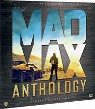 MAD MAX EDICION VINILO 4 DVD ANTOLOGIA COMPLETA NUEVO ( SIN ABRIR ) VINTAGE