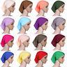 Muslim Ladies Soft Under Scarf Inner Cap Bone Bonnet Neck Cover Hijab Cap Wrap