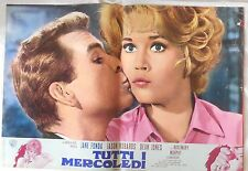 LOTTO SET 10 fotobusta lobby card TUTTI I MERCOLEDI ANY WEDNESDAY MILLER FONDA